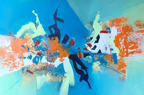 Maria und Wolfgang Liedermann, OT 20190902, Abstract art, Abstract Art