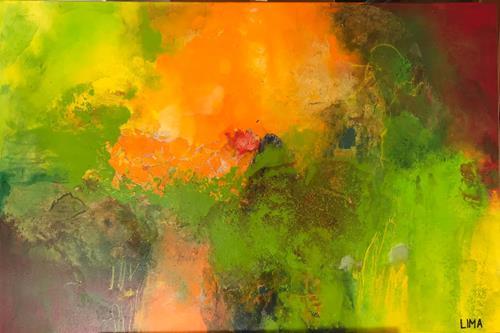 Maria und Wolfgang Liedermann, Luna, Abstract art, Abstract Art, Expressionism