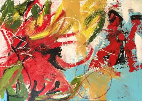 Maria und Wolfgang Liedermann, Urwald, Abstract art, Abstract Art