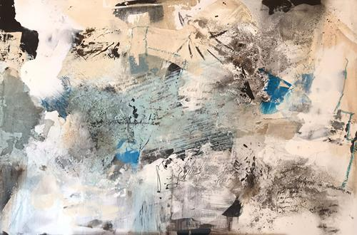 Maria und Wolfgang Liedermann, OT 202001, Abstract art, Abstract Art, Abstract Expressionism