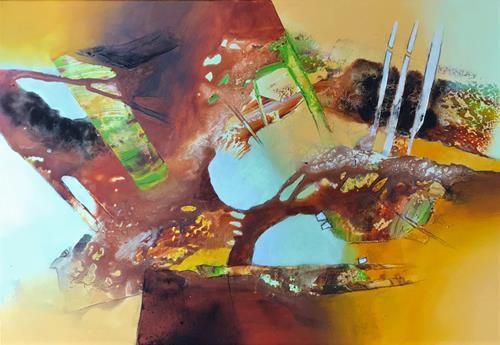 Maria und Wolfgang Liedermann, Was Du liebst, lass frei, Abstract art, Abstract Art, Abstract Expressionism