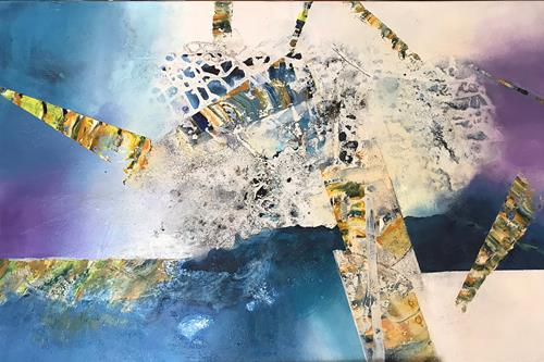 Maria und Wolfgang Liedermann, Lucy in the Sky with Diamonds, Abstract art, Abstract Art, Abstract Expressionism