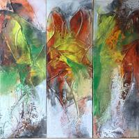 Maria-und-Wolfgang-Liedermann-Abstract-art-Plants-Contemporary-Art-Contemporary-Art