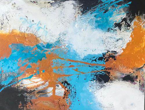 Maria und Wolfgang Liedermann, HELP !, Abstract art, Contemporary Art