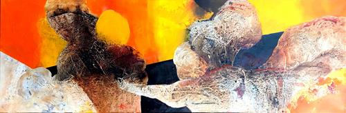 Maria und Wolfgang Liedermann, Count your age by friends, not years, count your life by smiles, not tears, Abstract art, Abstract Art, Abstract Expressionism