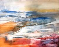 Maria-und-Wolfgang-Liedermann-Abstract-art-Landscapes-Sea-Ocean-Contemporary-Art-Contemporary-Art