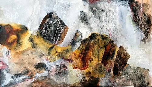 Maria und Wolfgang Liedermann, Verborgene Edelsteine, Abstract art, Nature: Rock, Contemporary Art, Expressionism