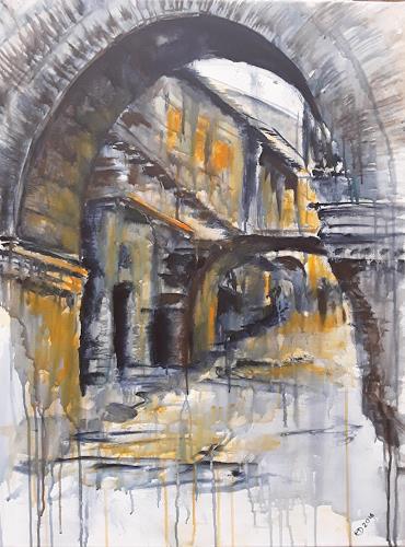 Edeldith, Römische Altstadt, Architecture, Buildings, Expressive Realism