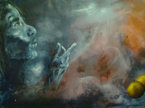 Edeldith, Detailausschnitt - Das Wunder vom Josephspfenning, Mythology, Fantasy, Symbolism, Expressionism