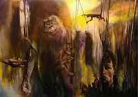 edeldith-Fantasy-People-Men-Modern-Age-Expressive-Realism