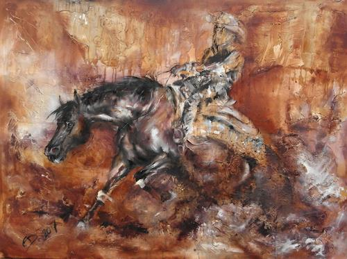 Edeldith, Turn me loose, Sports, Movement, Expressive Realism, Abstract Expressionism