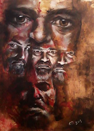 Edeldith, Das Andere in mir, People, Emotions, Realism, Abstract Expressionism