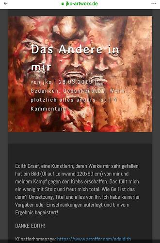 Edeldith, Das andere in mir, People: Portraits, Emotions: Fear, Expressive Realism