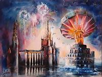 edeldith-Landscapes-Fantasy-Modern-Age-Symbolism