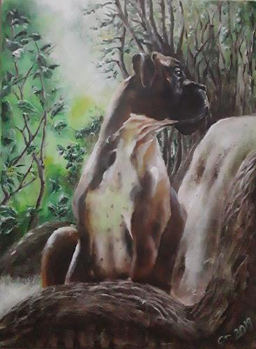 Edeldith, Bob, Animals, Nature, Expressive Realism, Expressionism