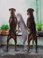 edeldith-Animals-Nature-Modern-Times-Realism