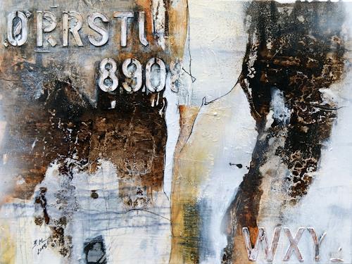 Bernadette Möllmann, Vergangenes, Abstract art, Happening, Expressionism