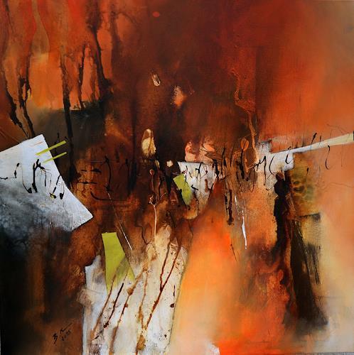 Bernadette Möllmann, Auf neuen Wegen, Abstract art, Abstract Art, Abstract Expressionism