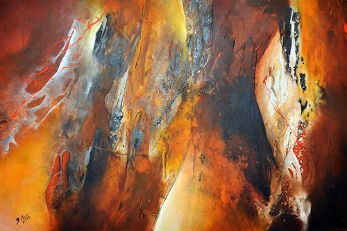 Bernadette Möllmann, Wegbegleiter, Abstract art, Abstract Art, Expressionism