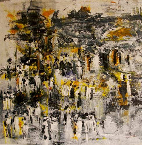 Jo, Jüngstes Gericht, People, Abstract Expressionism