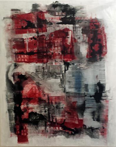 Jo, Stadt am Meer, Abstract art, Abstract Art