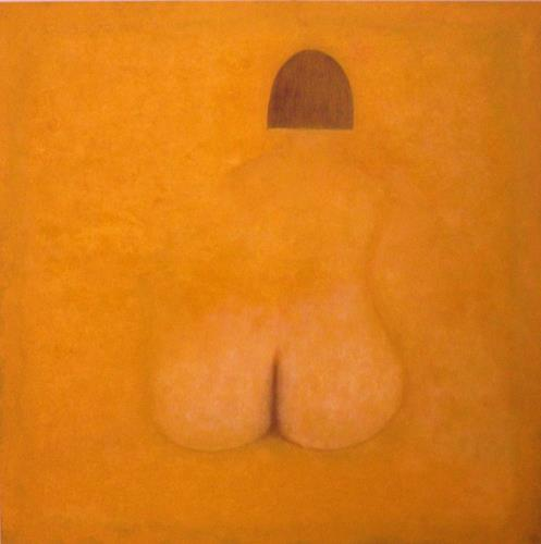 Theo Eckerle, Akt, Nude/Erotic motifs, Contemporary Art, Abstract Expressionism