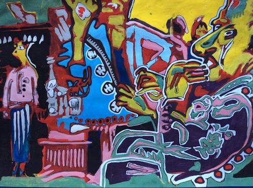 eugen lötscher, 5. oktober 2014, kunsthaus zürich, kaffeeteria, People: Group, Society, Contemporary Art