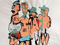 eugen-loetscher-People-Group-Nude-Erotic-motifs-Contemporary-Art-Contemporary-Art