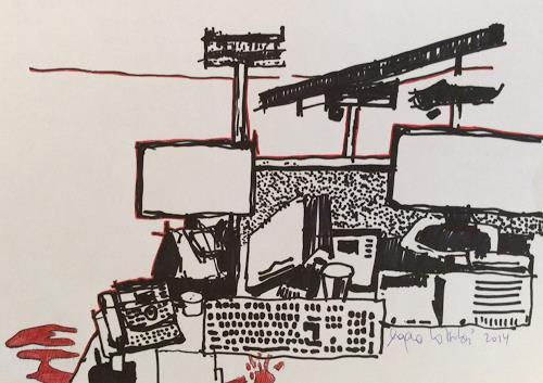 eugen lötscher, A R B E I S P L A T Z,  2014, Society, Society, Contemporary Art