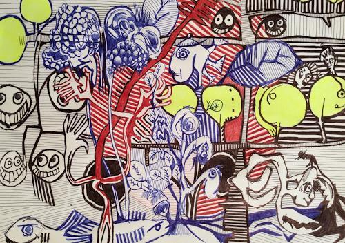 eugen lötscher, gedeihen, 18. oktober 2105, Emotions, Nature, Contemporary Art, Expressionism
