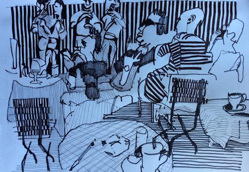 eugen lötscher, HB zürich, 24. juni 2016, People, People, Contemporary Art