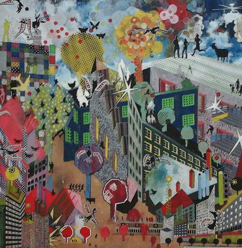 eugen lötscher, die stadt, People, People, Contemporary Art
