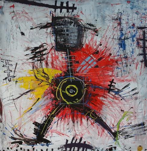 eugen lötscher, suicide bomber,  2017, People, People, Abstract Art, Abstract Expressionism