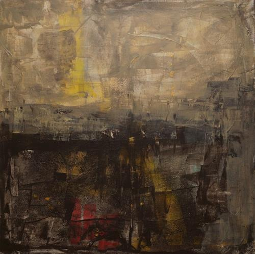 Remo Passeri, ein neuer Tag beginnt, Abstract art, Abstract Art, Abstract Expressionism
