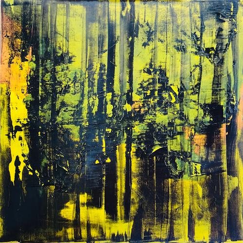 Remo Passeri, o.T., Abstract art, Abstract Art, Expressionism