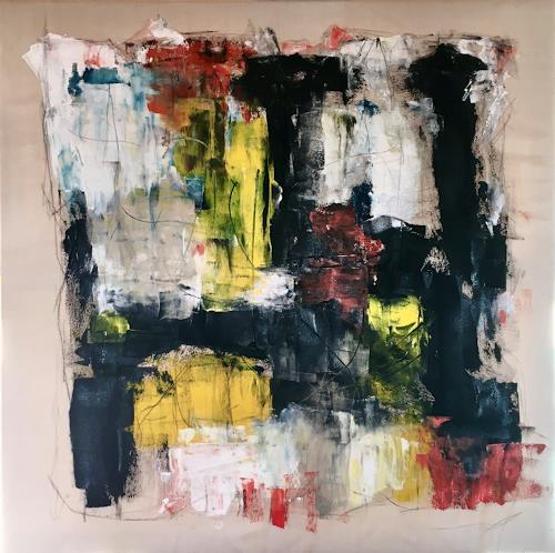 Remo Passeri, o.T., Abstract art, Abstract Art, Abstract Expressionism