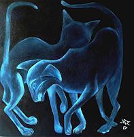 Hanna-Rheinz-Fantasy-Miscellaneous-Animals-Contemporary-Art-Contemporary-Art