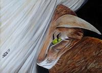 Hanna-Rheinz-Miscellaneous-Animals-Fantasy-Contemporary-Art-Contemporary-Art
