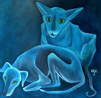 Hanna-Rheinz-Animals-Land-Abstract-art-Contemporary-Art-Contemporary-Art