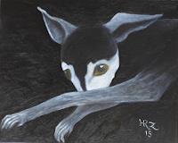 Hanna-Rheinz-Animals-Land-Miscellaneous-Emotions-Modern-Age-Expressive-Realism