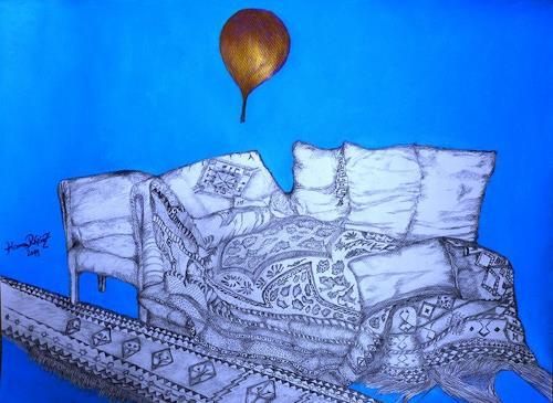 Hanna Rheinz, Verlassenes Sofa, Miscellaneous People, Symbol, Expressive Realism, Abstract Expressionism