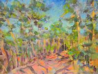 Barbara-Schauss-1-Landscapes-Nature-Wood-Modern-Age-Impressionism