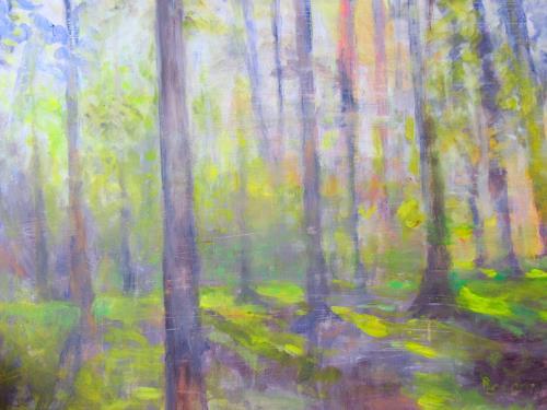 Barbara Schauß, Zauberwald, Nature, Nature: Wood, Impressionism