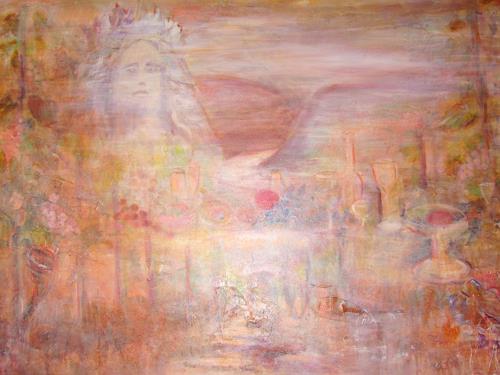 Barbara Schauß, Déja vu, Mythology, Abstract art, Contemporary Art