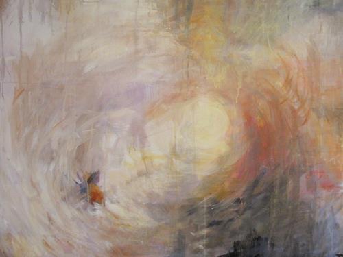 Barbara Schauß, I love Turner II, Abstract art, Romantic motifs, Abstract Art, Expressionism