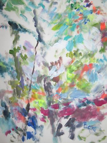 Barbara Schauß, wild nature, Miscellaneous Plants, Nature, Abstract Expressionism