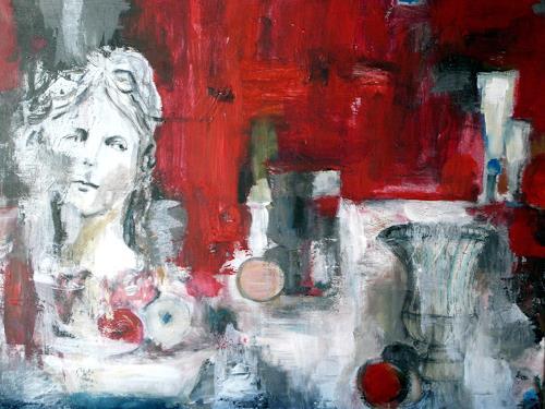 Barbara Schauß, Melancholie, Still life, Decorative Art