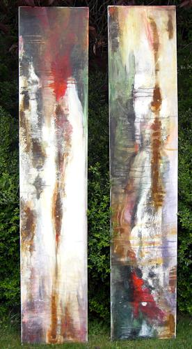 Barbara Schauß, Duo, Abstract art, Miscellaneous, Contemporary Art, Abstract Expressionism