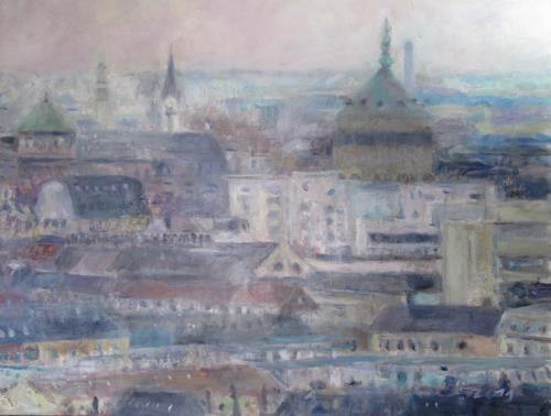 Barbara Schauß, Mannheim, Miscellaneous Landscapes, Architecture, Contemporary Art