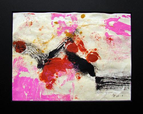 Barbara Schauß, o.T. 2015 Monotypie, Miscellaneous Landscapes, Abstract art, Contemporary Art